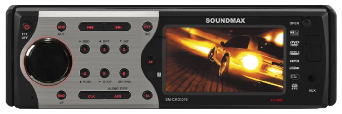 Soundmax | SM-CMD-3016